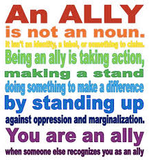 Being an Ally